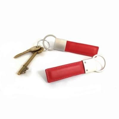 f8b1abf2bd94 Porte clé rectangulaire en simili cuir de couleur